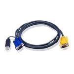 Cordon KVM USB 3m