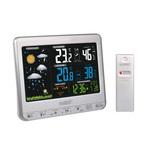 Station météo avec écran couleur LCD - capteur de température intérieure/extérieure et port USB