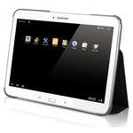 """Étui de protection avec patte élastique de saisie pour tablette Samsung Galaxy Tab S 10.5"""""""