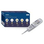 Dictaphone numérique avec système de dictée USB PCM 100 kHz + 1 an de licence Bighand Professionnel + reconnaissance vocale