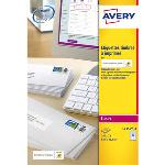 Avery Etui de 240 étiquettes pour timbres à imprimer 63.5 x 33.9 mm pour imprimante laser