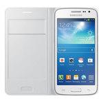 Etui à rabat pour Samsung Galaxy Core 4G - Bonne affaire (article utilisé, garantie 2 mois