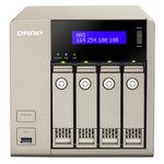Serveur NAS 4 baies (sans disque dur) avec 8GB DDR3L-1600