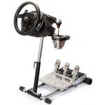 Support pliable, réglable et transportable en métal pour volant Thrustmaster T500 RS
