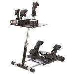 Support pliable, réglable et transportable en métal pour joystick Thrustmaster Hotas Warthog et Saitek X56 / X55 / X52 / X52 Pro
