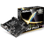 Carte mère Micro ATX Socket AM3+/AM3 AMD 970 - SATA 6Gb/s - USB 3.0 - 2x PCI Express 2.0 16x