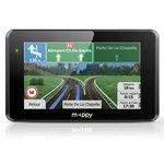 """GPS 14 pays d'Europe Ecran 5"""" avec Guide du routard et mise à jour à vie"""