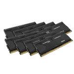 Kit Quad Channel 8 barrettes de RAM DDR4 PC4-22400 - HX428C14PBK8/64 (garantie 10 ans par Kingston)