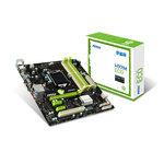 Carte mère Micro ATX Socket 1150 Intel H97 Express - SATA 6Gb/s - USB 3.0 - 1x PCI-Express 3.0 16x