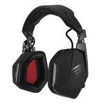 Casque-micro sans fil son surround 3D pour gamer (Bluetooth/USB/Jack) - (coloris noir mat)