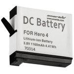 Batterie compatible GoPro AHDBT-401 (pour GoPro Hero 4)