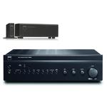Amplificateur stéréo intégré 2 x 80 W avec Convertisseur numérique/analogique USB