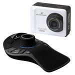 Souris de navigation 3D + Caméra sportive Full HD 1080p