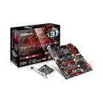 Carte mère ATX Socket AM3+ AMD 990FX - SATA 6 Gbps - USB 3.1 - 3x PCI-Express 2.0 16x