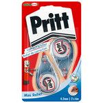 Pritt Mini Roller Blister de 2 rollers de correction
