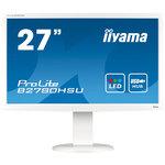 1920 x 1080 pixels - 2 ms - Format large 16/9 - HDMI - Hub USB - Blanc