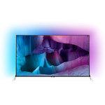 """Téléviseur LED 4K 3D 65"""" (165 cm) 16/9 - 3840 x 2160 pixels - TNT, Câble et Satellite HD - Wi-Fi - Android - 1400 Hz - 2 paires de lunettes 3D Active"""