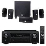Ampli-tuner Home Cinema 3D Ready 5.2 avec 5 entrées HDMI 2.0 4K Ultra HD, HDCP 2.2 et Bluetooth + Ensemble 5.1