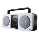 Enceinte portable sans fil Bluetooth avec port USB et tuner FM
