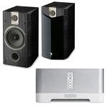 Solution pour diffusion audio sans-fil + Enceinte bibliothèque (par paire)