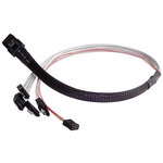 Câble Mini-SAS 36 broches vers SATA 7 broches x4