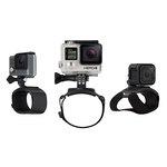 Fixation main, poignet, bras et jambe pour toutes caméras GoPro
