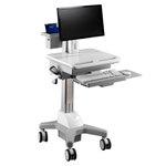 """Station de travail ergonomique pour moniteur 15-24"""""""