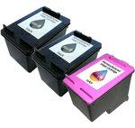 Multipack cartouches compatibles HP 301XL (2 x noir et 1 x couleur cyan/mangeta/jaune)