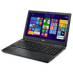 "Intel Core i3-4005U 4 Go 500 Go 15.6"" LED HD Graveur DVD Wi-Fi N Webcam Windows 7 Professionnel 64 bits + Windows 8.1 Pro 64 bits"