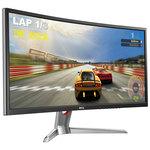 2560 x 1080 pixels - 4 ms (gris à gris) - Format large 21/9 - 144 Hz - Dalle A-MVA incurvée - DisplayPort - MiniDisplayPort - HDMI - Argent/Noir
