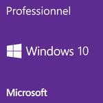 Microsoft Windows 10 Professionnel 64 bits (français) - Licence OEM