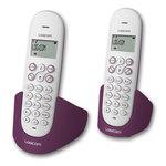 Téléphone DECT sans fil avec haut parleur (version française) et un combiné supplémentaire