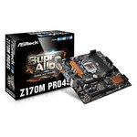 Carte mère Micro ATX Socket 1151 Intel Z170 Express - SATA 6Gb/s + M.2 - USB 3.0 - 2x PCI-Express 3.0 16x