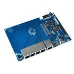 Carte mère pour routeur open-source A20 ARM Cortex A7 Dual Core - ARM Mali400MP2 - RAM 1 Go - USB - Micro SD