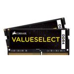 Kit Dual Channel RAM DDR4 PC4-17000 - CMSO8GX4M2A2133C15 (garantie 10 ans par Corsair)