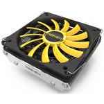 Ventilateur processeur low profile 100 mm pour Intel et AMD