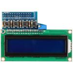Afficheur LCD bleu à 2 lignes de 16 caractères pour carte Raspberry Pi