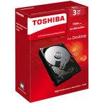 "Disque dur 3.5"" 3 To 7200 RPM 64 Mo Serial ATA III 6 Gb/s (version boîte)"
