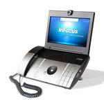 Téléphone filaire pour VoIP avec visiophone