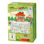 Console de jeux-vidéo portable tactile 3D à deux écrans larges + Jeu Animal Crossing : Happy Home Designer préinstallé