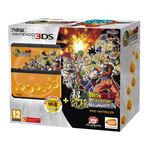 Console de jeux-vidéo portable tactile 3D à deux écrans + Jeu Dragon Ball Z : Extreme Butoden préinstallé