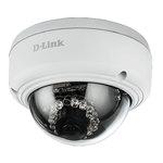 Caméra dôme PoE Full HD d'extérieur anti-vandal jour/nuit