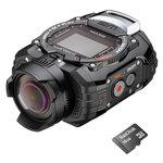 Caméra sportive miniature Full HD étanche avec Wi-Fi + carte mémoire 16 Go