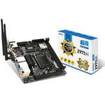 Carte mère Mini-ITX Socket 1150 Intel Z97 Express - SATA 6Gb/s - USB 3.0 - 1x PCI-Express 3.0 16x - Wi-Fi AC - Bluetooth 4.0