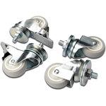 """Roulettes avec freins pour armoires 19""""  - Bonne affaire (article utilisé, garantie 2 mois"""