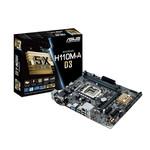 Carte mère Micro ATX Socket 1151 Intel H110 Express - SATA 6Gb/s - USB 3.0 - 1x PCI-Express 3.0 16x