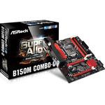 Carte mère Micro ATX Socket 1151 Intel B150 Express - SATA 6Gb/s - SATA Express - USB 3.0 - Combo DDR3/DDR4 - 2x PCI-Express 3.0 16x