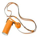 Système de fixation cou avec étui en cuir pour caméra sportive HTC RE