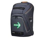 Sac à dos avec système de clignotants LED intégré pour ordinateur portable (jusqu'à 15.6'') et tablette (jusqu'à 10.1'')