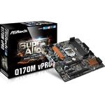 Carte mère Micro-ATX Socket 1151 Intel Q170 Express - SATA 6Gb/s - M.2 - 2x PCI-Express 3.0 16x